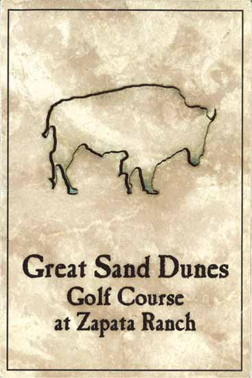 Great Sand Dunes Golf Course at Zapata Ranch