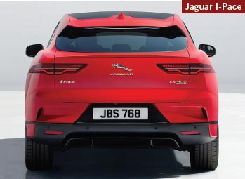 The luxury 2019 Jaguar I-Pace