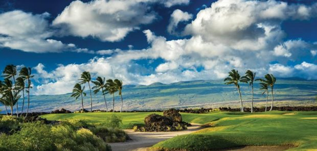 The Weiskopf-Morrish-designed Kings' Course at Waikoloa Beach Resort in Waimea
