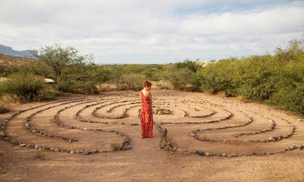 Labyrinth spa in Tucson