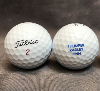 Personalized golf balls PGATSS