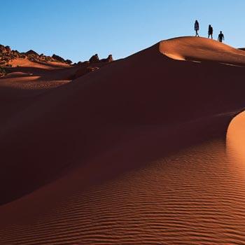 Sand Mountain sand dunes