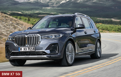 The luxury 2019 BMW X7 50i