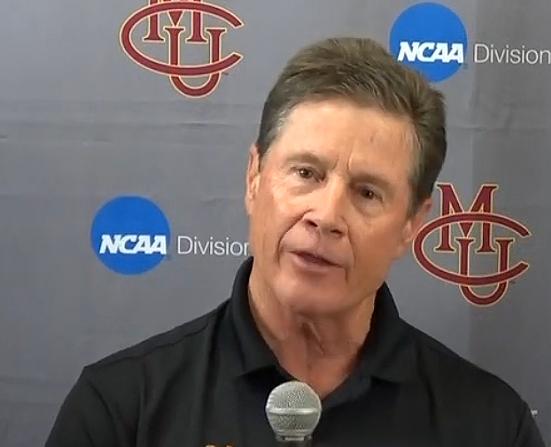 Scott Sullivan, CMU Coach