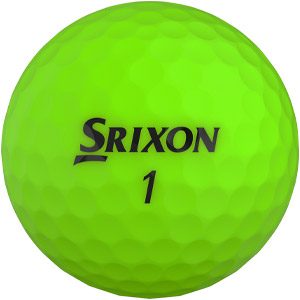 Srixon Soft Feel golf ball in green