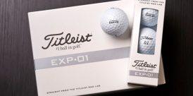 Titleist's new experimental EXT-01 golf ball