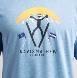 Travis Mathew Colorado Shirt