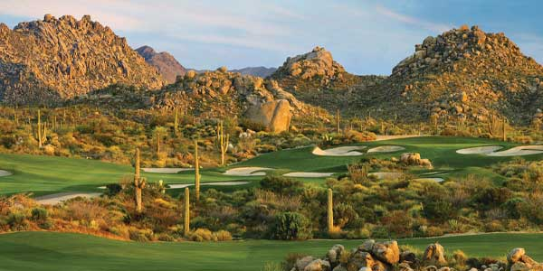 Troon North Golf Club in north Phoenix
