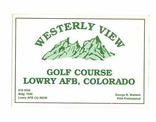 Westerly View Golf Course