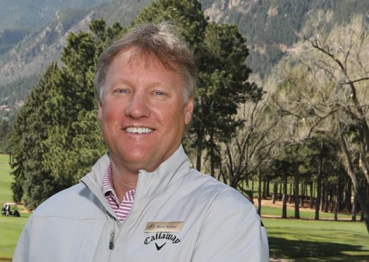 Russ Miller of the Broadmoor and Colorado Golf Hall of Fame