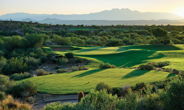 """Four Peaks"" from We-Ko-Pa Golf Club"
