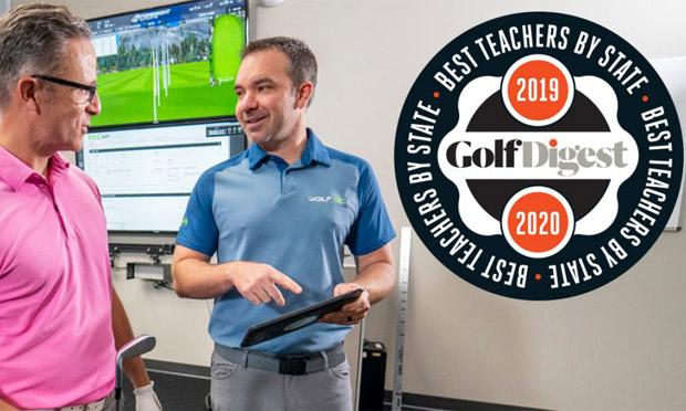 Award-winning GOLFTEC coach
