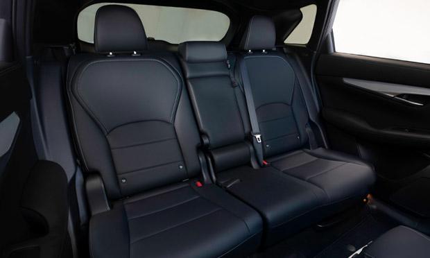 QX50 back seat