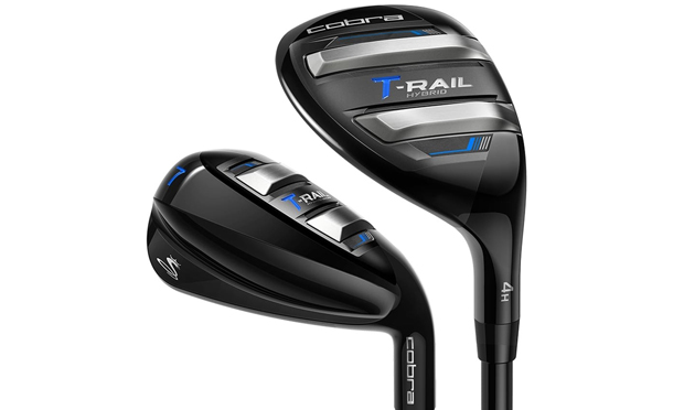 Cobra Golf T-Rail Iron-Hybrid Golf Set
