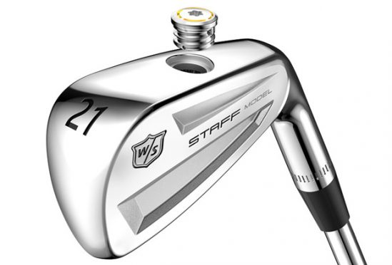 The insert in the Wilson Staff Model Utility Iron