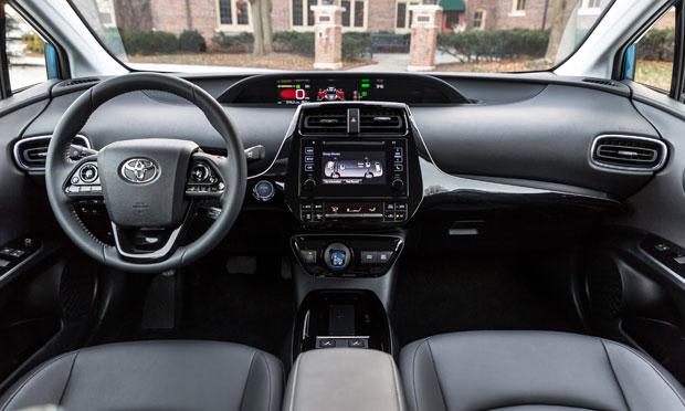 2019 Prius AWD-e dashboard