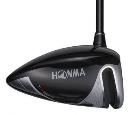 Honma T//World XP-1 Driver from the toe