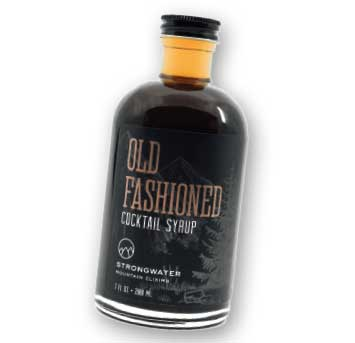 Old Fashioned Cocktail Syrup from Strongwater to accompany your Holiday spirits