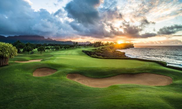 Poipu Bay Golf Course in Kauai