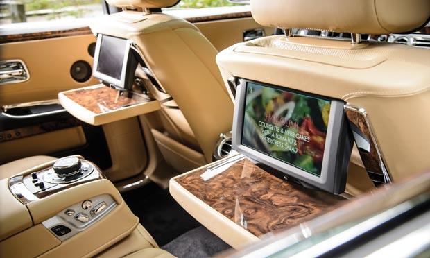 Rolls-Royce Ghost Series II back seat