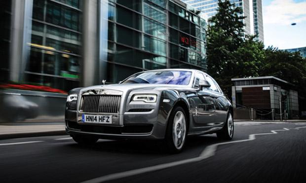 Rolls-Royce Ghost Series II front