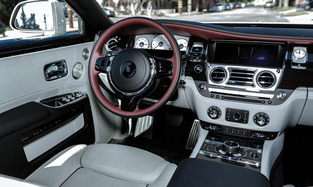 Rolls_Royce Ghost Series II dashboard