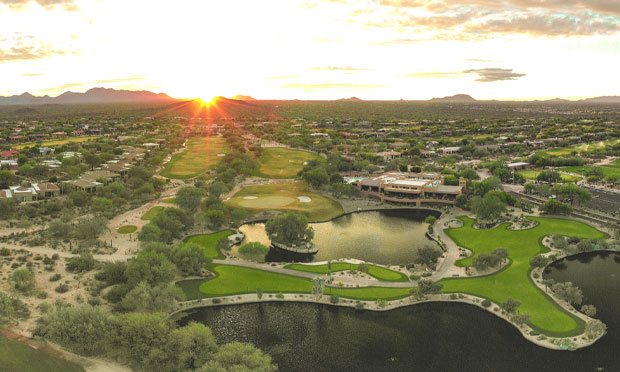 Tonto Verde golf course community from above
