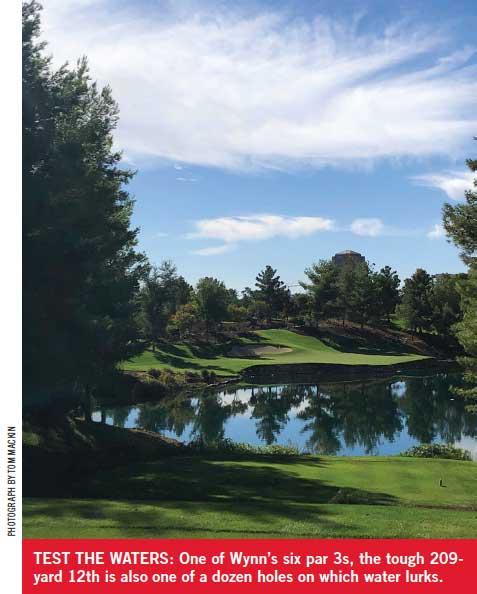 Hole 12 at Wynn Golf Club