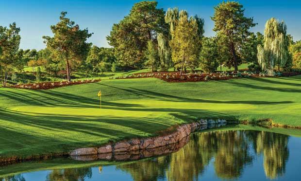 Hole 5 at Wynn Golf Club