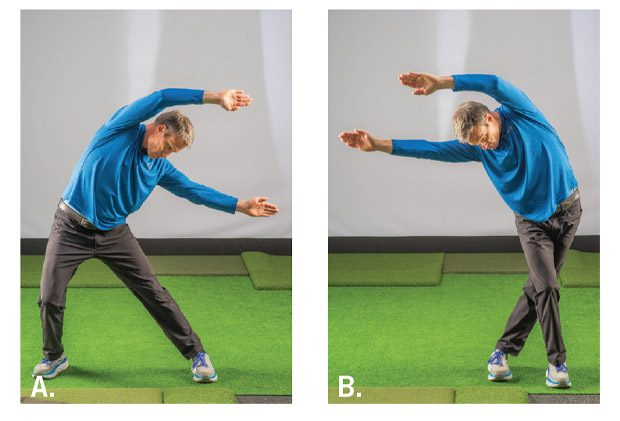 Address position stretches used to improve mobility