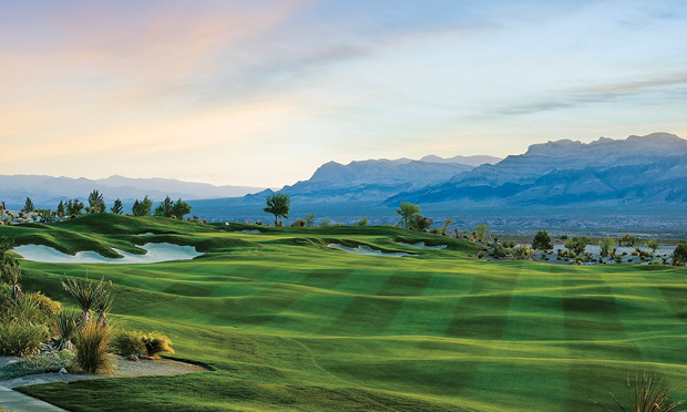 Coyote Springs Golf Club designed by Jack Nicklaus