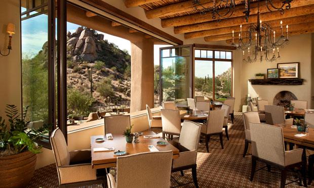 Dining space at Desert Highlands