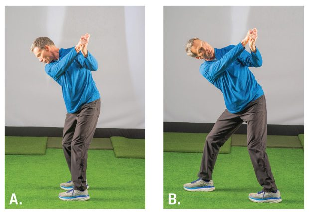 Finishing Position stretches used to improve mobility