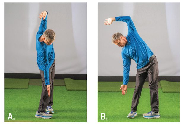 Impact Position stretches used to improve mobility