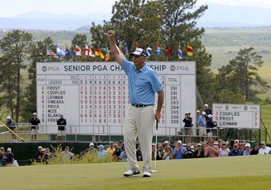 Tom Lehman at the 2010 Senior PGA