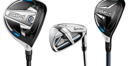 TaylorMade SIM fairway metal, rescue and iron models