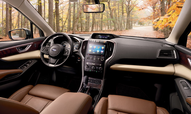 the interior of the 2019 Subaru Ascent