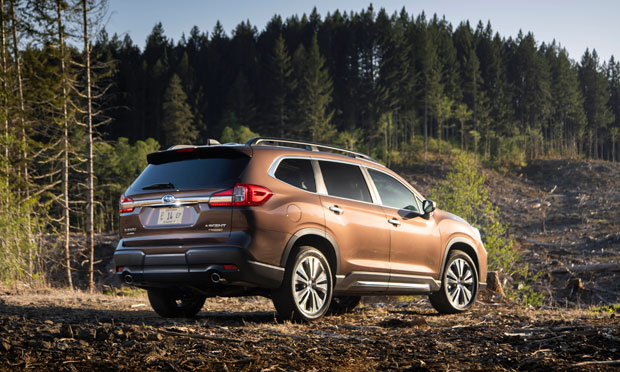 the rear of the 2019 Subaru Ascent