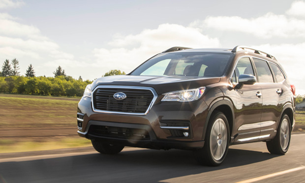the front of the 2019 Subaru Ascent