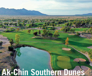 Ak-Chin Southern Dunes in Maricopa, Arizona is a great place to play during Spring Training