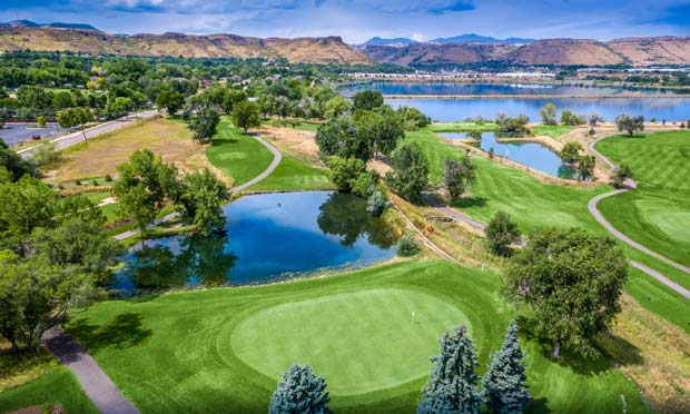Applewood Golf Course in Golden, Colorado. The 2020 CAGGY Award winner for Best Course for Families.