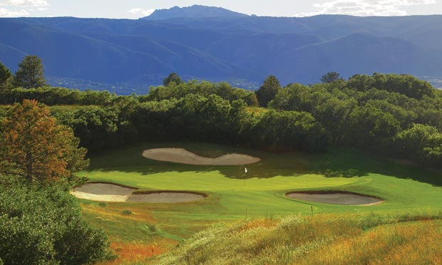 The Golf Club at Bear Dance in Larkspur, Colorado. Winner of the 2020 CAGGY Award for Best Denver Metro Course.