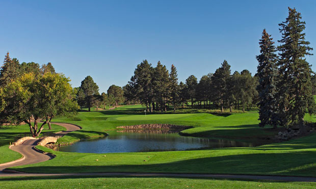 Broadmoor Golf Club's East Course in Colorado Springs, Colorado