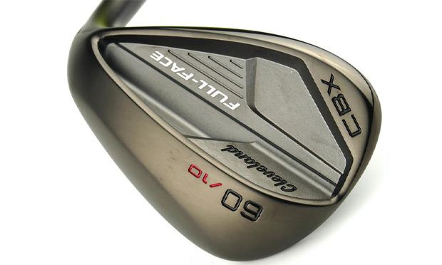 The back of the Cleveland CBX wedge