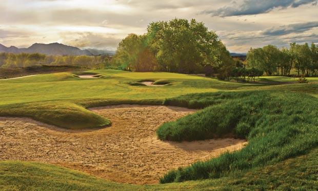 Coal Creek Golf Course in Louisville, Colorado
