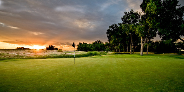 Green Valley Ranch at dusk
