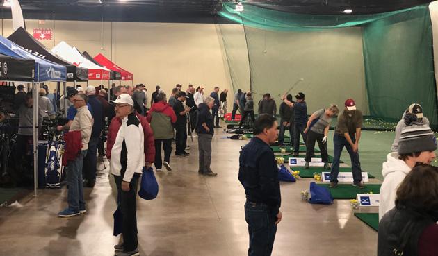Lenny's Golf Demo Area at Denver Golf Expo