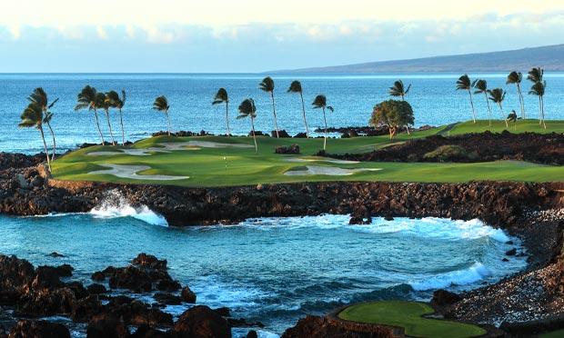 The South Course at Mauna Lani, No. 15