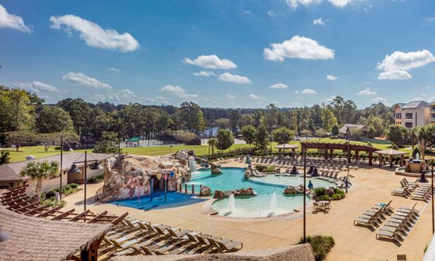 Resort Pool at Marriott Grand National Resort & Spa, Auburn-Opelika, Alabama
