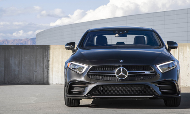 2019 Mercedes CLS53 front view